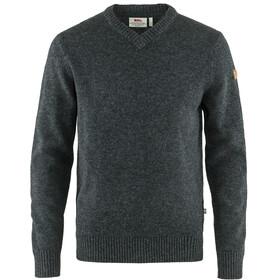Fjällräven Övik V-hals sweater Herrer, grå
